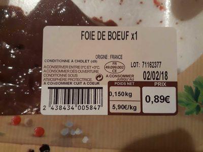 Foie de bœuf - 3