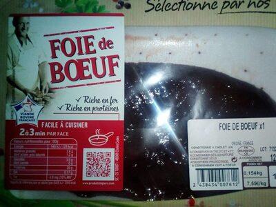 Foie de beuf - Product