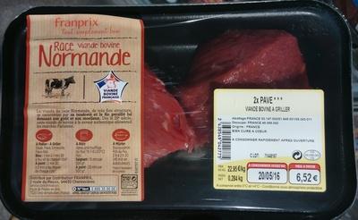 Pavé - Viande bovine à griller - Produit