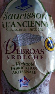 Saucisson d'Ardèche Debroas - Produkt - fr