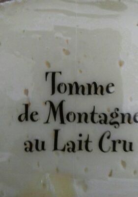 Tomme de montagne au lait cru - Prodotto - fr