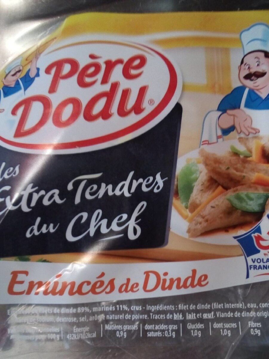 Émincés de filets de dinde extra tendres marinés crus - Product - fr
