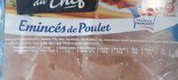 Émincés de poulet - Ingredients - fr