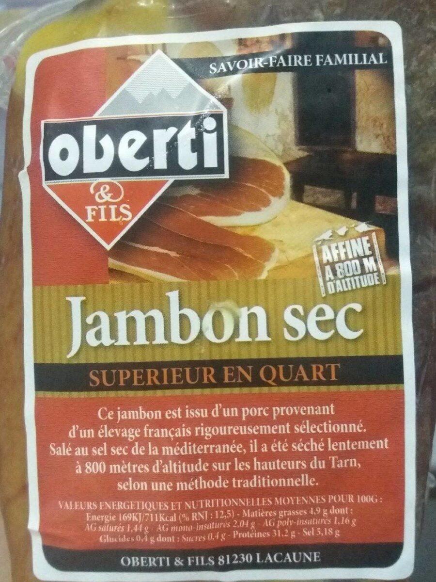Jambon sec - Product