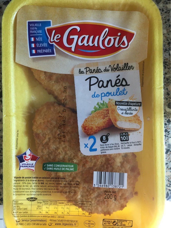 Panés de poulet - Product