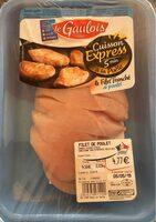 Le filet tranché de poulet - Produit