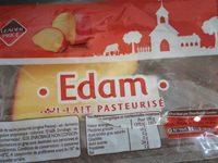 Edam au lait pasteurisé - Produit - fr