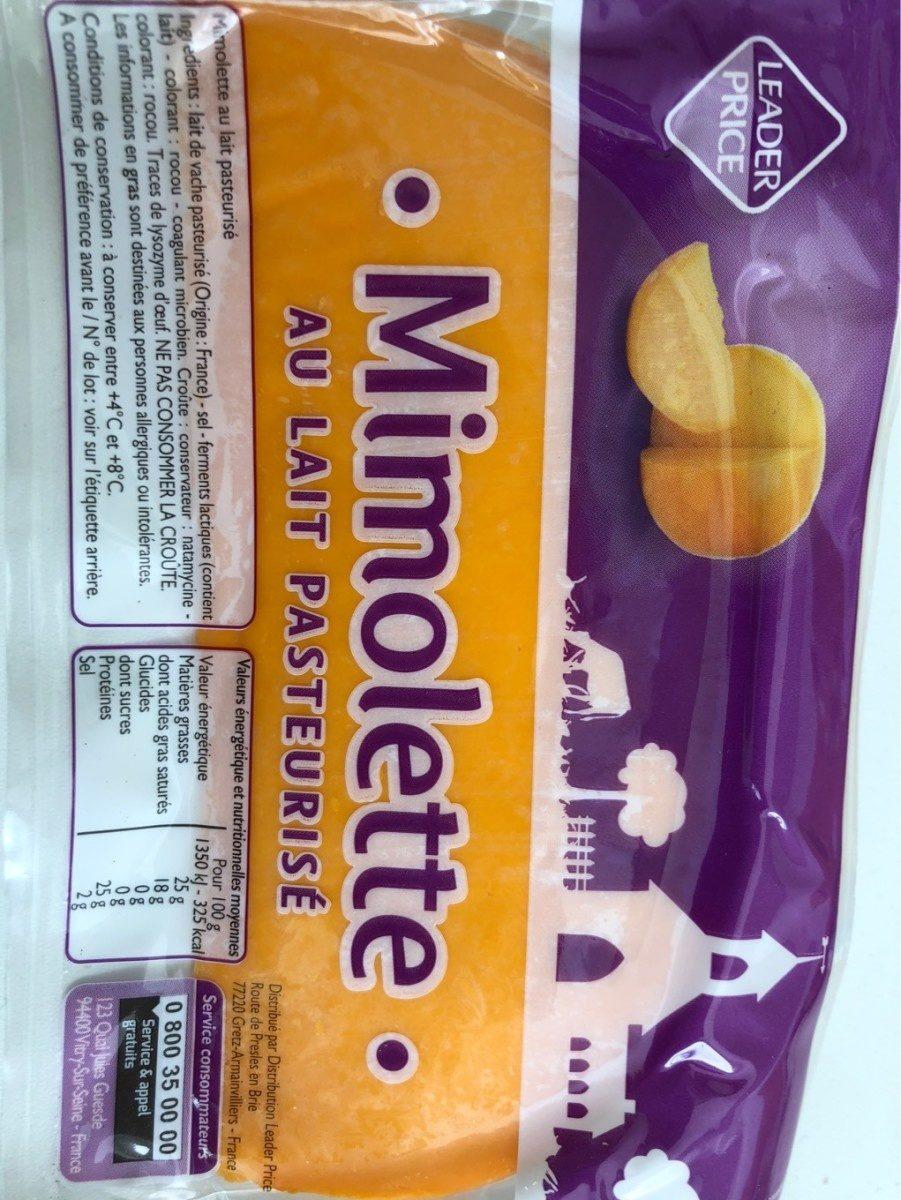 Mimolette au lait pasteurisé - Prodotto - fr