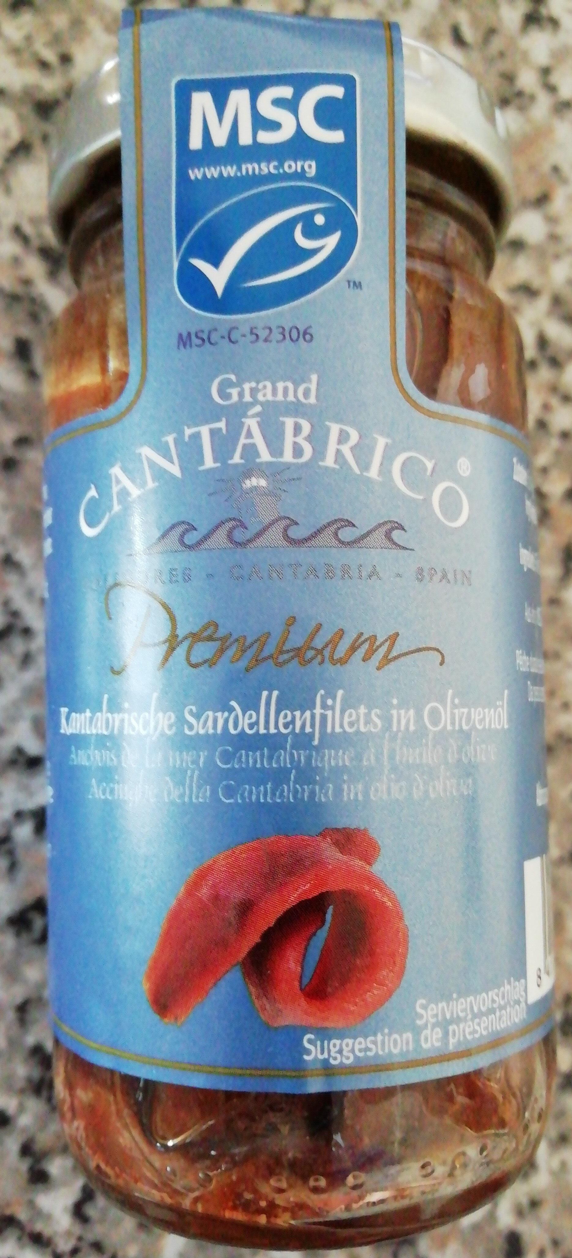 Anchois de la mer Cantabrique à l'huile d'olive - Product - fr