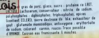 Sossiski F.E - Ingrediënten - fr