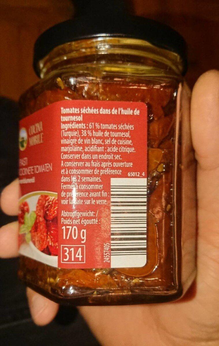 Antipasti getrockenete tomaten - Nutrition facts