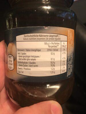 Borettane Zwiebeln - Valori nutrizionali - de