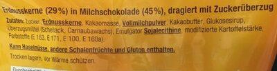 Erdnuss Chocs - Ingrediënten - en
