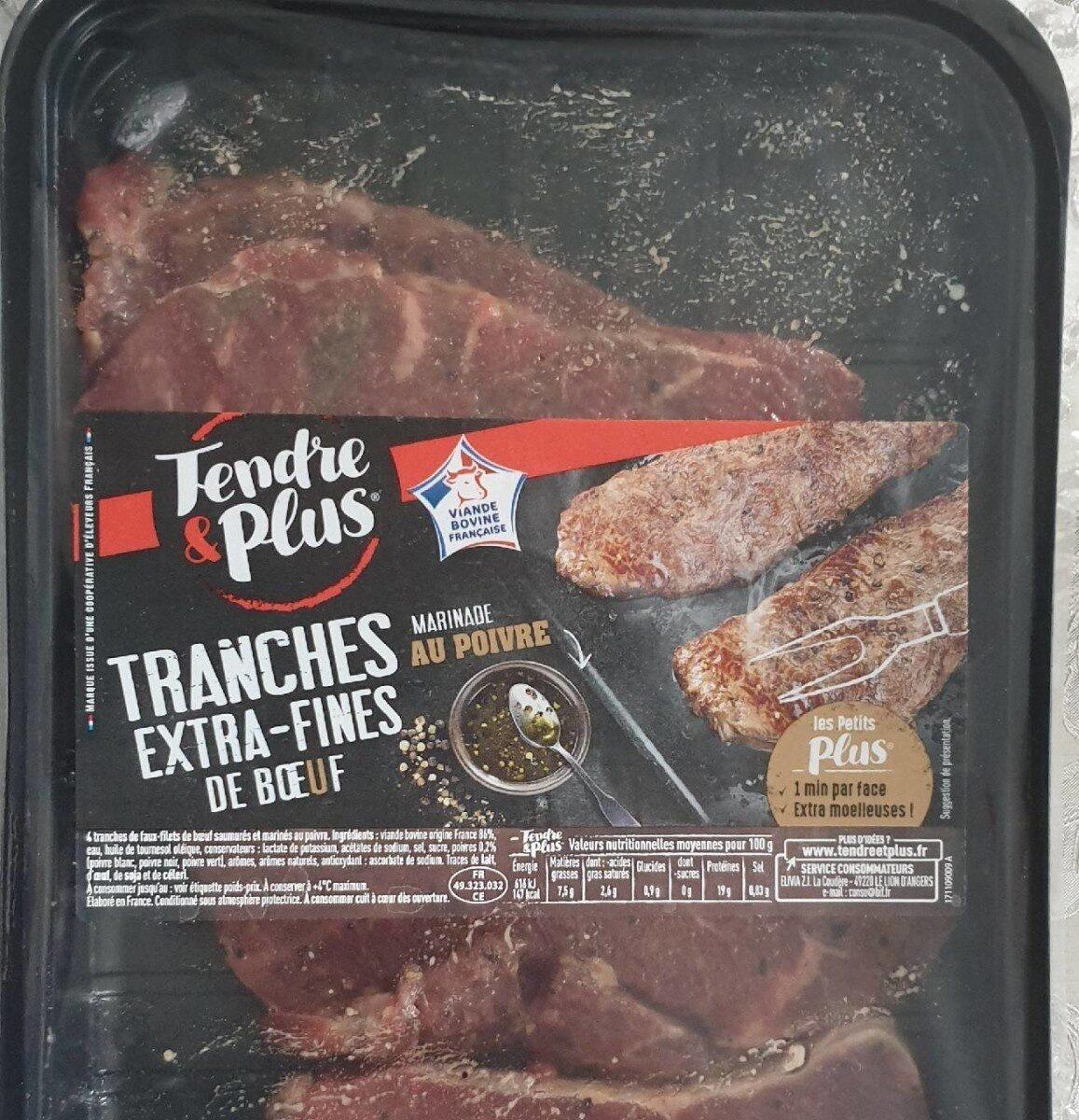 Tranches extra-fines de bœuf - Product