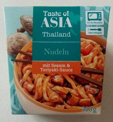 Nudeln mit Sesam und Teriyaki-Sauce - Product - de