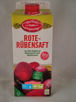 Rote-Rübensaft aus den Regionen Weinviertel und Waldviertel - 1