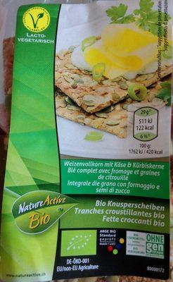Knäckebrot, Dinkelvollkorn Knusper Sonnenblumen - Product - fr