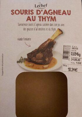 Souris d'agneau au thym - Produit - fr