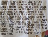Pan de hogaza multicereales - Ingredients