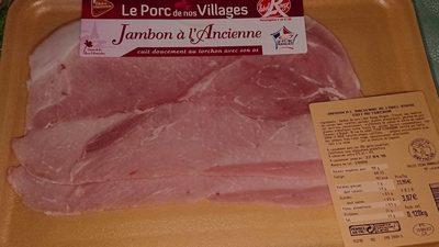 Le porc de nos village jambon à l'ancienne label rouge - Product - fr