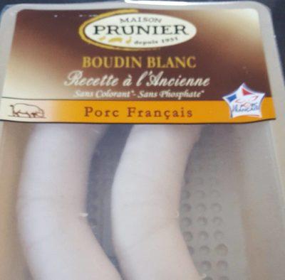 Boudin blanc recette à l'ancienne - Produit - fr