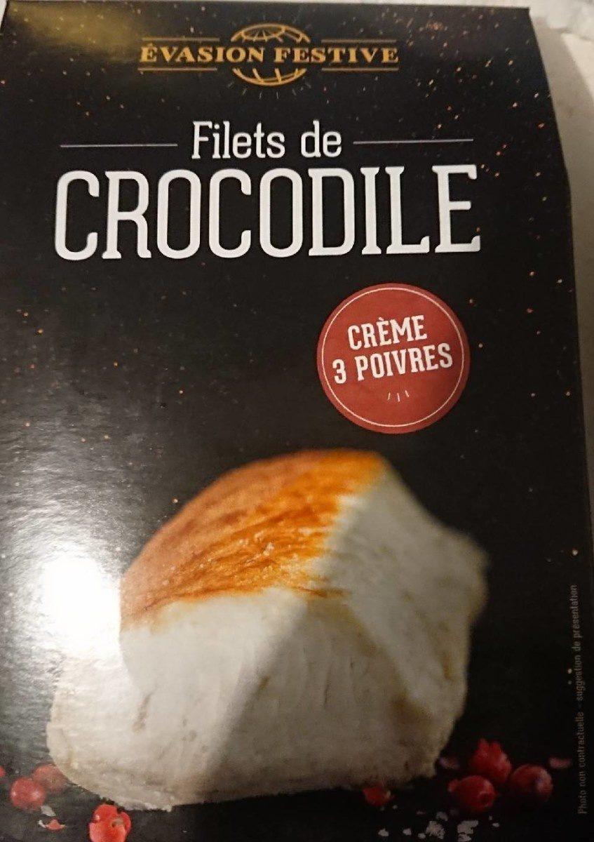 Filet de crocodile sauce poivre - Product - fr
