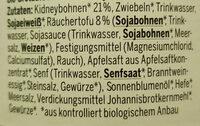 Bio Pastete - Ingredients - de