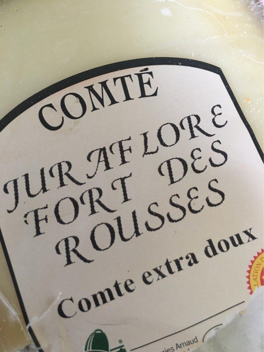Comté Juraflore Fort des Rousses - Product - fr