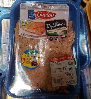 Les milanaises - Ingredients - fr