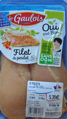 Filet de poulet - Produit - fr
