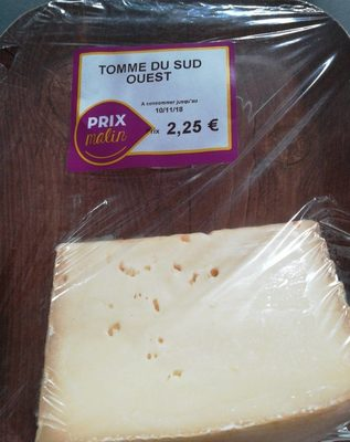 Tomme du sud ouest - Produit - fr