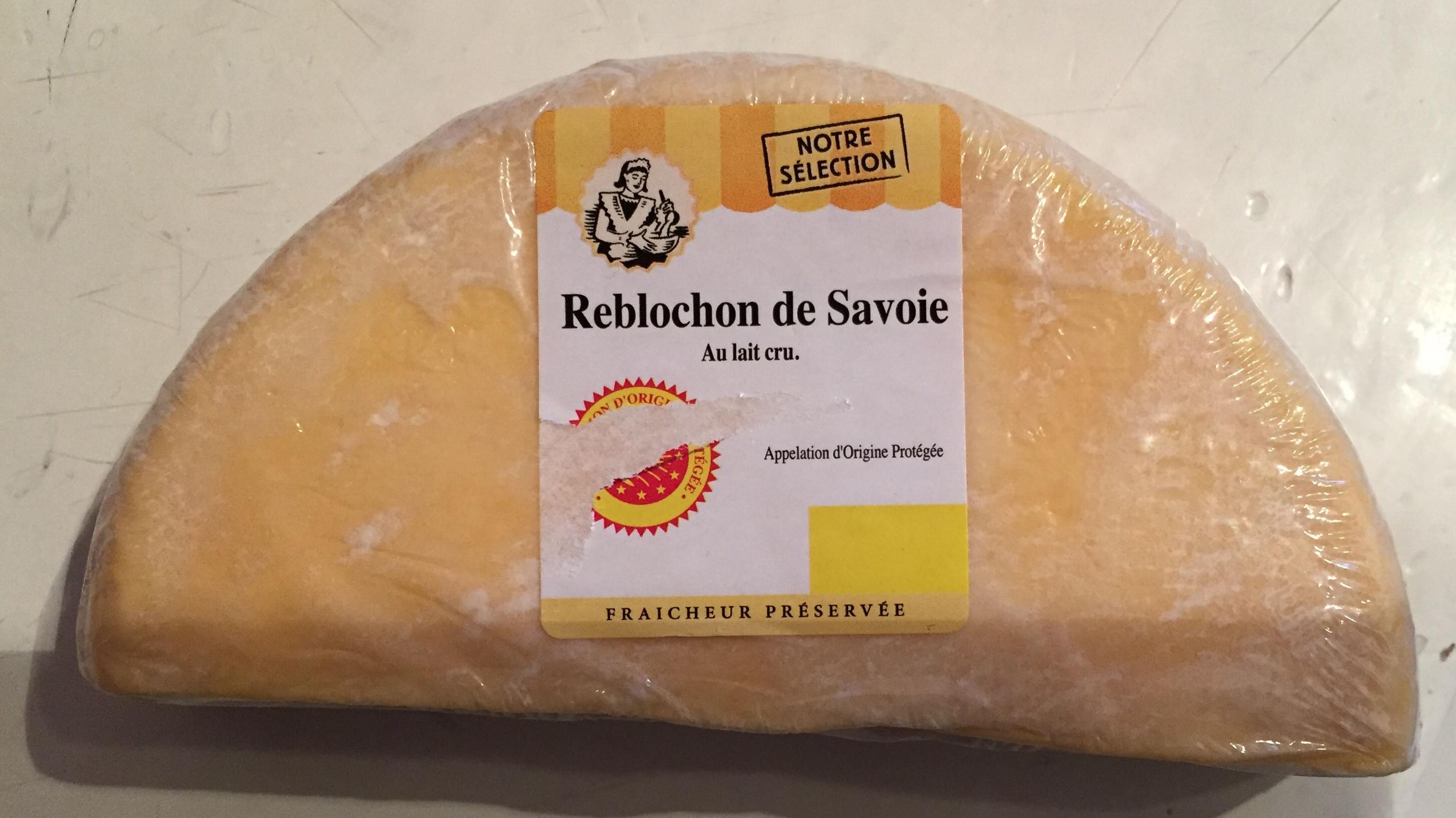 Reblochon de Savoie au lait cru - Produit