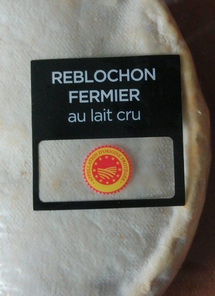 Reblochon fermier au lait cru - Product - fr