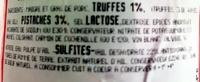 Cervelas à la truffe - Ingrédients - fr