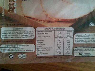 Filet de porc - Product