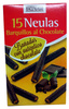 Neulas barquillos al chocolate - Product