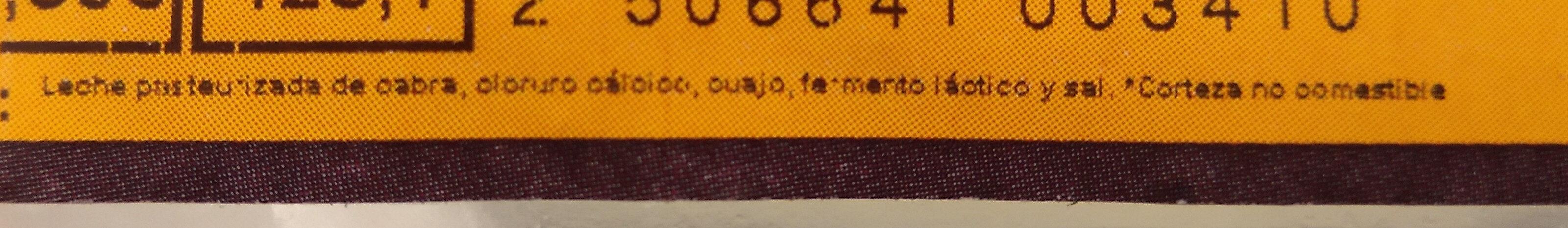 Queso artesano de Cabra Garrotxa - Ingredients - es