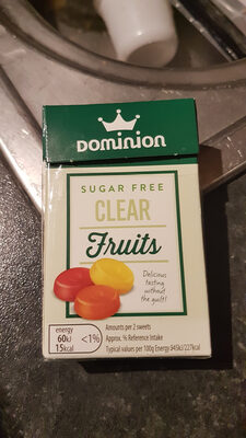 Clear fruits - Product