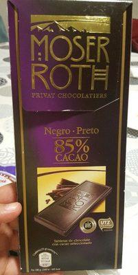 Chocolate negro 85% cacao - Produit