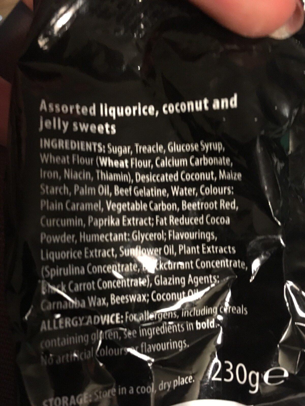 Liquorice - Ingredienti - en