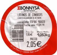 Plátanos de Canarias - Ingrediënten - es