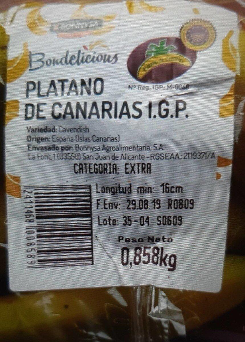 Plátano - Producto - es