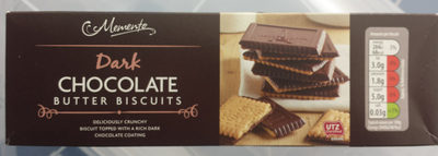 Chocolate butter biscuits - Product