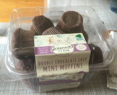 Double chocolate chip mini muffins - Product - en