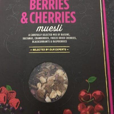 Berries & cherries muesli - Produit - en