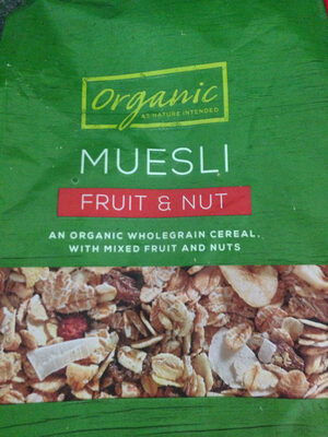 Muesli Fruit & Nut - Product
