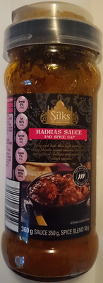 Silks Madras Sauce and Spice Cap - Produit - en