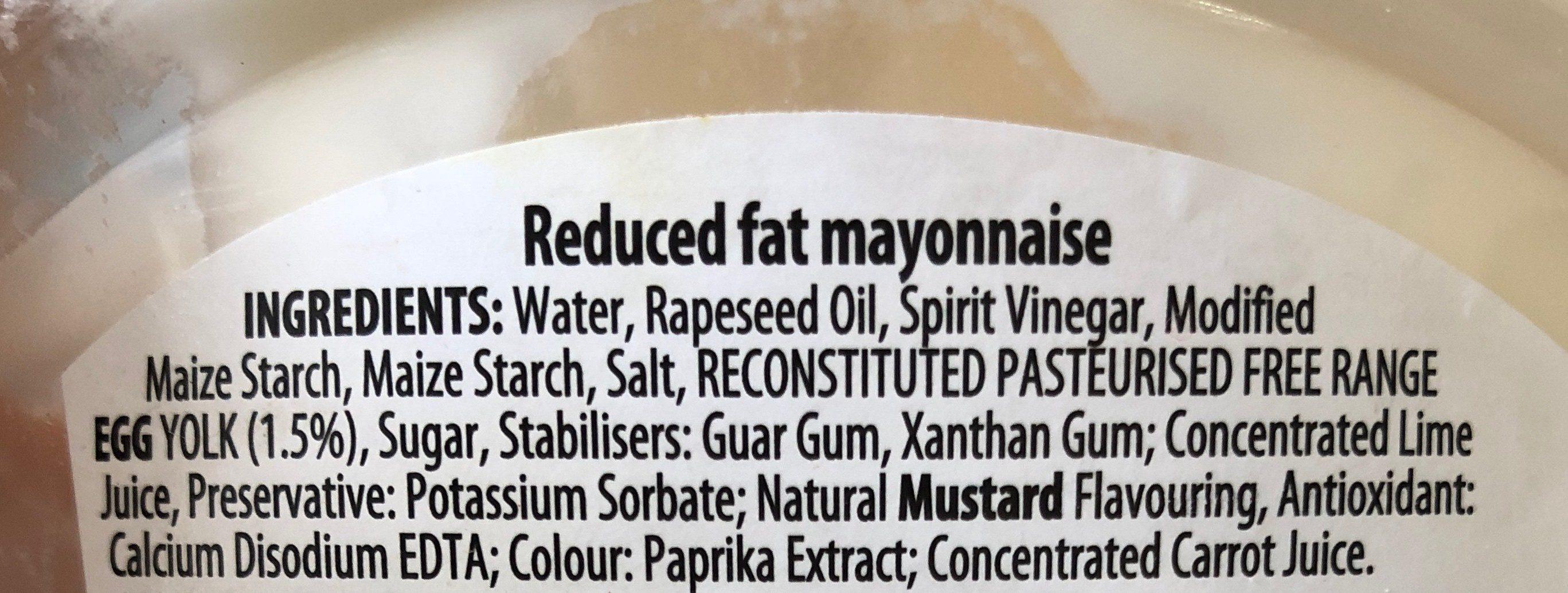 light Mayonnaise - Ingrédients
