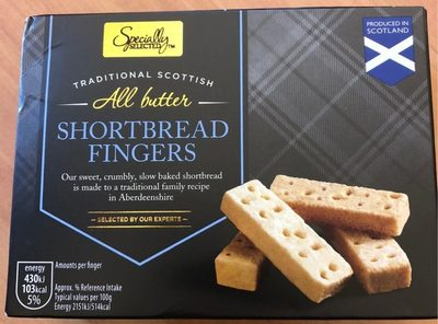 All Butter Shortbread Fingers - Produkt - fr