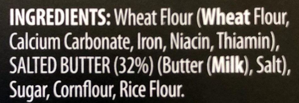 All Butter Shortbread Fingers - Inhaltsstoffe - fr